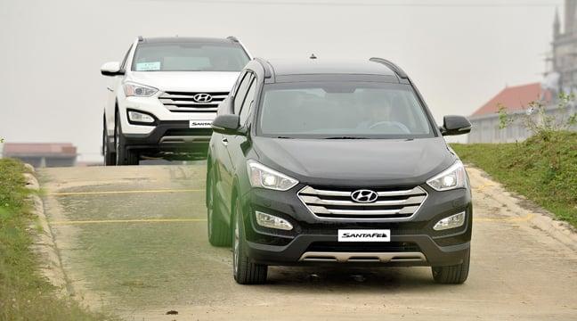 Hình ảnh Hyundai SantaFe 2015 nội ra mắt, giá từ 1,13 tỷ đồng số 2