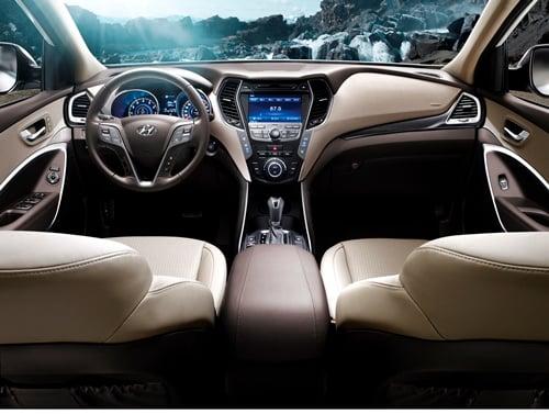 Hình ảnh Hyundai SantaFe 2015 nội ra mắt, giá từ 1,13 tỷ đồng số 3