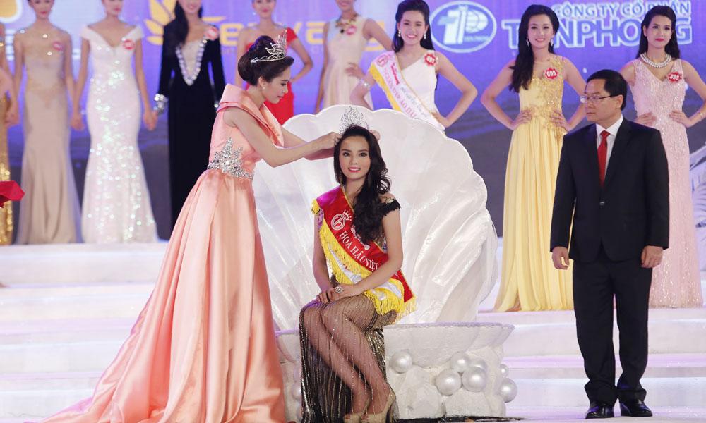 Hình ảnh Nguyễn Cao Kỳ Duyên đăng quang Hoa hậu Việt Nam 2014 số 2