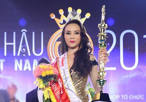 Hình ảnh Nguyễn Cao Kỳ Duyên đăng quang Hoa hậu Việt Nam 2014 số 1