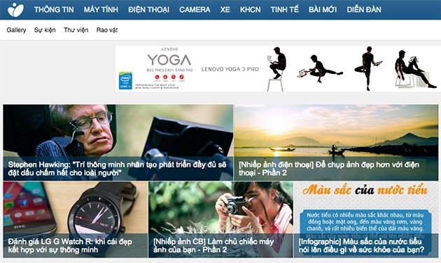 Top 5 website công nghệ lớn nhất Việt Nam năm 2014 10