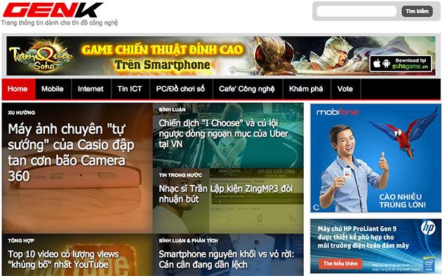 Top 5 website công nghệ lớn nhất Việt Nam năm 2014 13