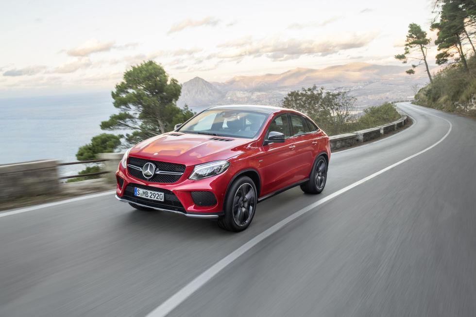 Mercedes-Benz GLE, đối thủ của BMW X6 trình làng 8