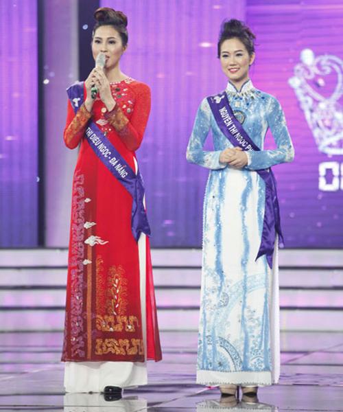 """Liveshow 8 Hoa khôi Áo dài Việt Nam bất ngờ loại thí sinh """"gián điệp""""  6"""