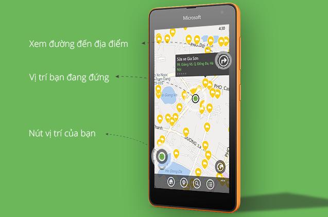 Cốc Cốc ra mắt ứng dụng địa điểm trên Windows Phone  6