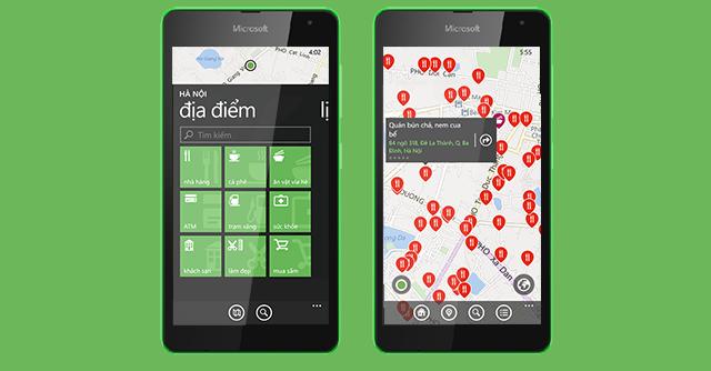 Cốc Cốc ra mắt ứng dụng địa điểm trên Windows Phone  5