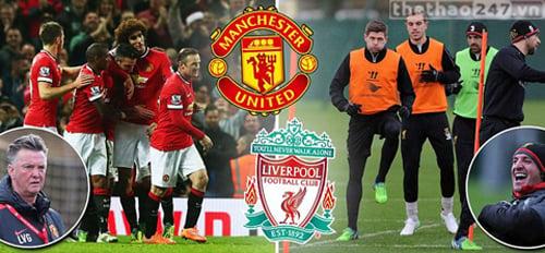 Link SOPCAST trực tiếp trận M.U (Man Utd) vs Liverpool - 20h30 ngày 14/12 1