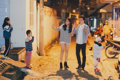 Ngây ngất với bộ ảnh cưới độc đáo của Lê Khánh và bạn trai  9