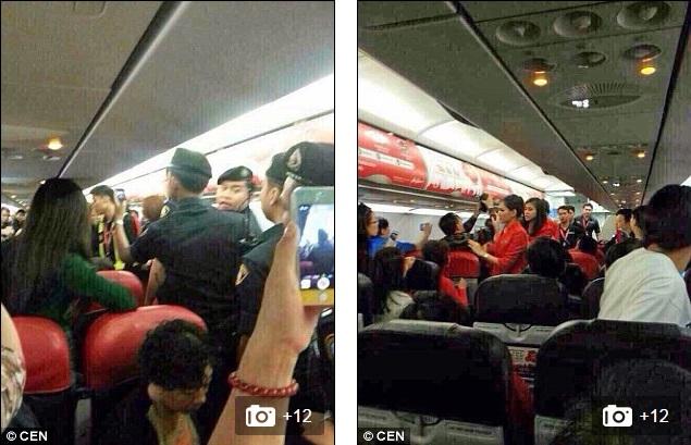 Chùm ảnh: Khoảnh khắc hành khách Trung Quốc hất nước nóng vào mặt tiếp viên 10