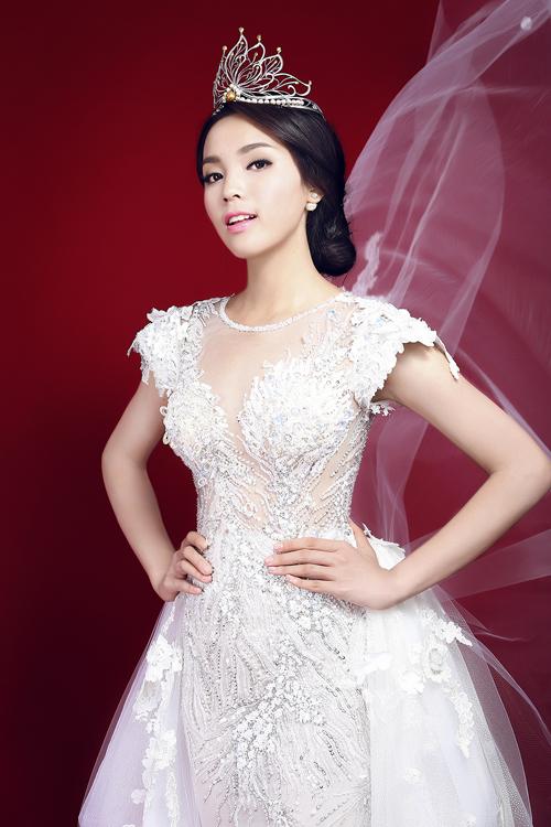 Hoa hậu Nguyễn Cao Kỳ Duyên đẹp ngỡ ngàng trong bộ ảnh mới 10