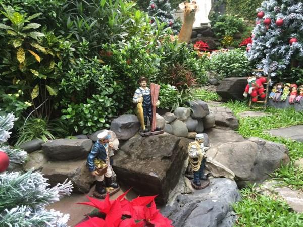 Đàm Vĩnh Hưng chơi trội làm vườn Giáng Sinh trong biệt thự triệu đô 7