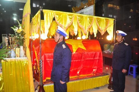Tổ chức lễ truy điệu 5 quân nhân hy sinh do tai nạn giao thông 4