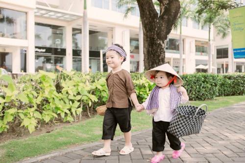 Những nhóc tỳ nhà sao Việt hot nhất năm 2014 9