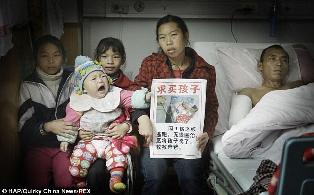 Rao bán con trong nước mắt để lấy tiền chữa bệnh cho chồng 5