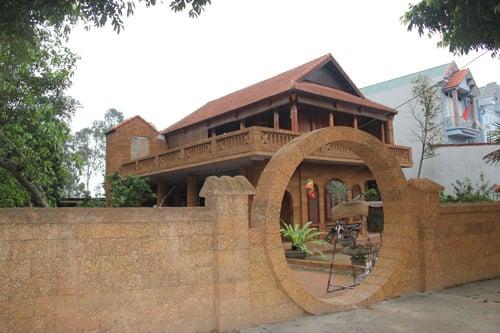 Hình ảnh Nhà gỗ bạc tỷ của các lão nông Việt số 2