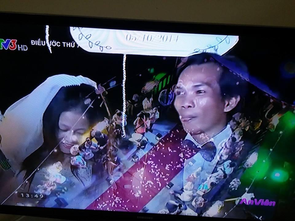 Đám cưới xúc động của chàng trai
