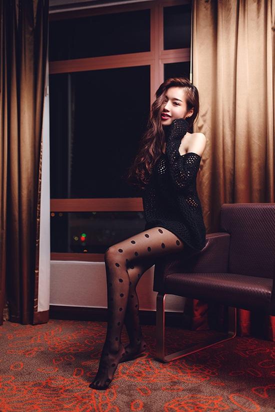 Elly Trần tung bộ ảnh đẹp cuốn hút đón Giáng sinh 2014 9