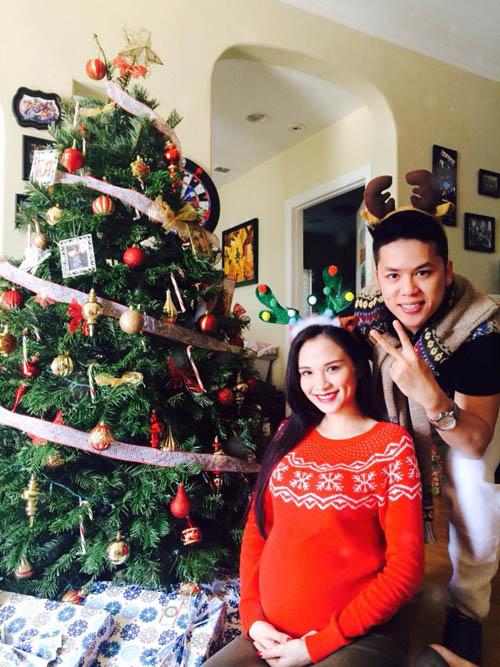 Hoa hậu Diễm Hương có kế hoạch sinh con tại Mỹ vào đầu năm 5