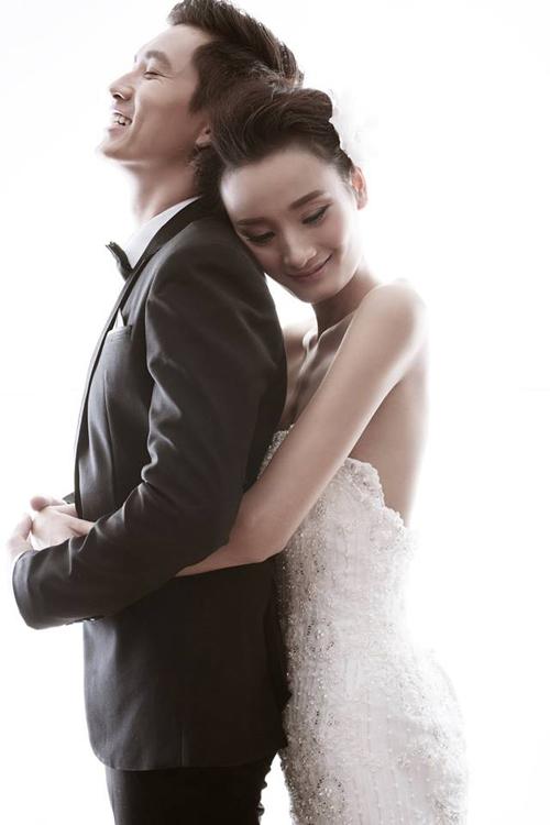 Hé lộ ảnh cưới đẹp long lanh của Lê Thúy - Đỗ An 7