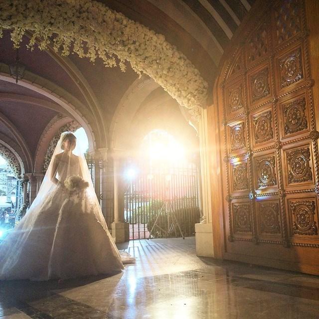 Hình ảnh Hôn lễ hoàng gia như trong mơ của mỹ nhân đẹp nhất Phillippines số 2