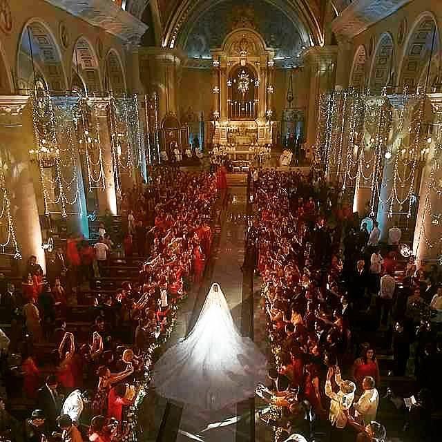 Hình ảnh Hôn lễ hoàng gia như trong mơ của mỹ nhân đẹp nhất Phillippines số 3