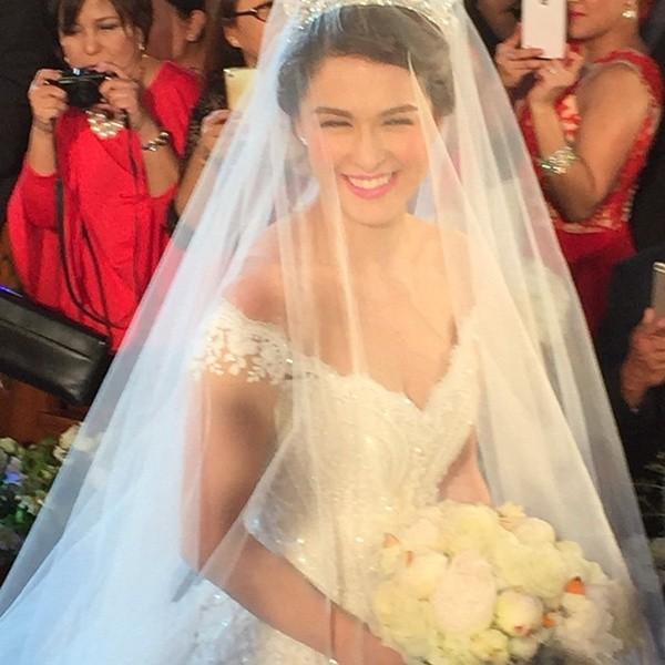 Hình ảnh Hôn lễ hoàng gia như trong mơ của mỹ nhân đẹp nhất Phillippines số 4