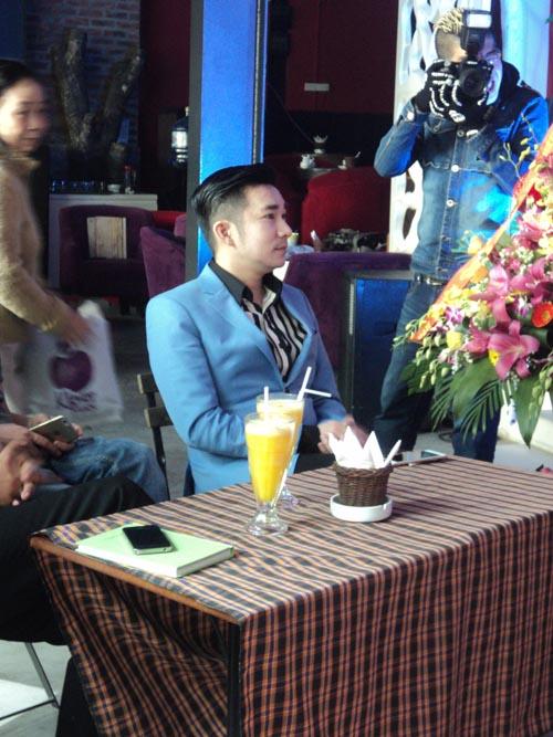 Quang Hà bảnh bao tham gia sự kiện tại Hà Nội 5