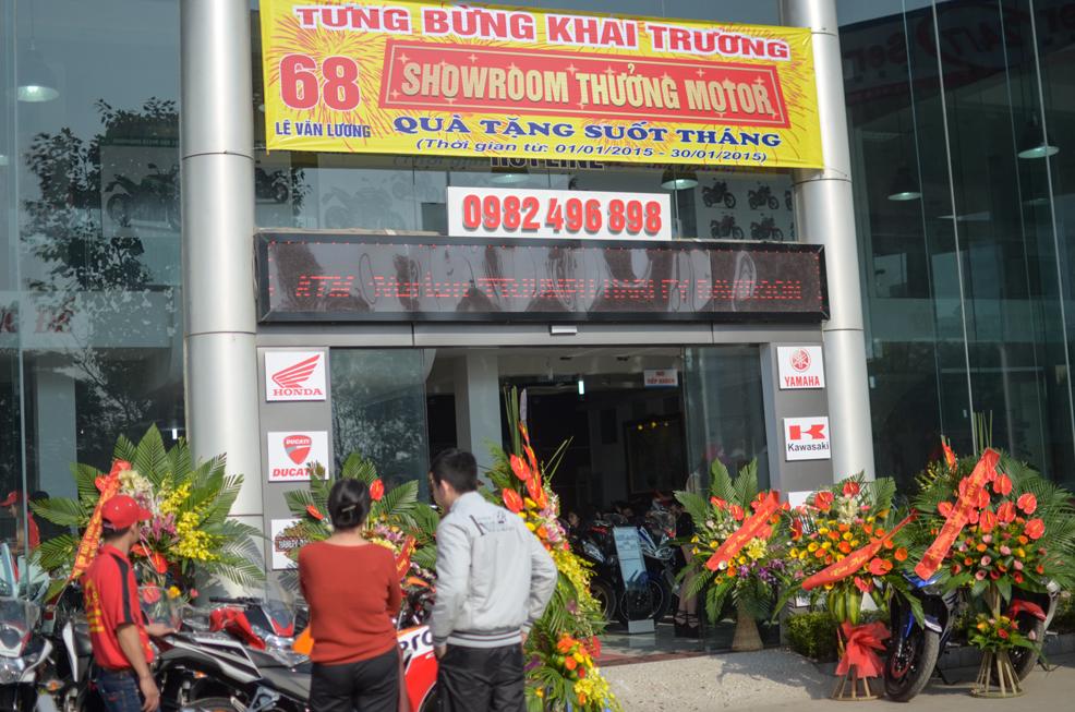 Khai trương showroom motor lớn bậc nhất Hà Nội 5