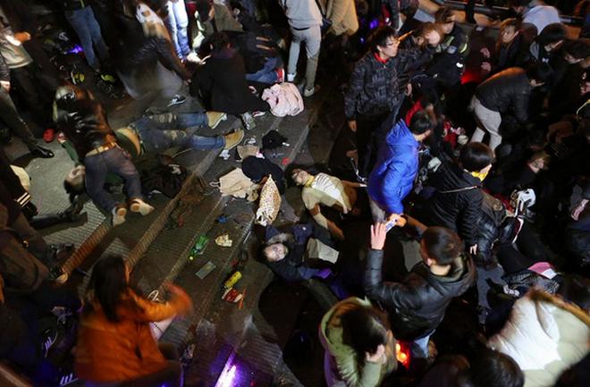 Nhân chứng kể lại vụ giẫm đạp kinh hoàng ở Thượng Hải 4