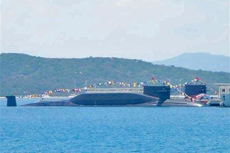 """Lộ diện tàu ngầm tên lửa Trung Quốc có thể """"sát thương"""" lục địa Mỹ 5"""