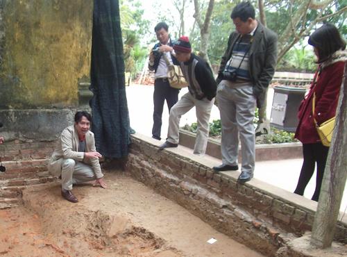 Hình ảnh Phát hiện dấu tích hành cung Lỗ Giang thời Trần tại Thái Bình số 1