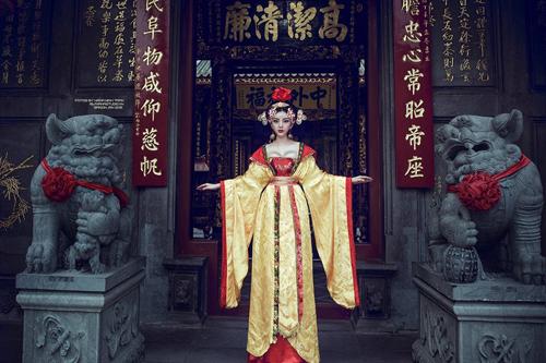 Bản sao Võ Tắc Thiên của Phạm Băng Băng phiên bản Việt gây sốt  6