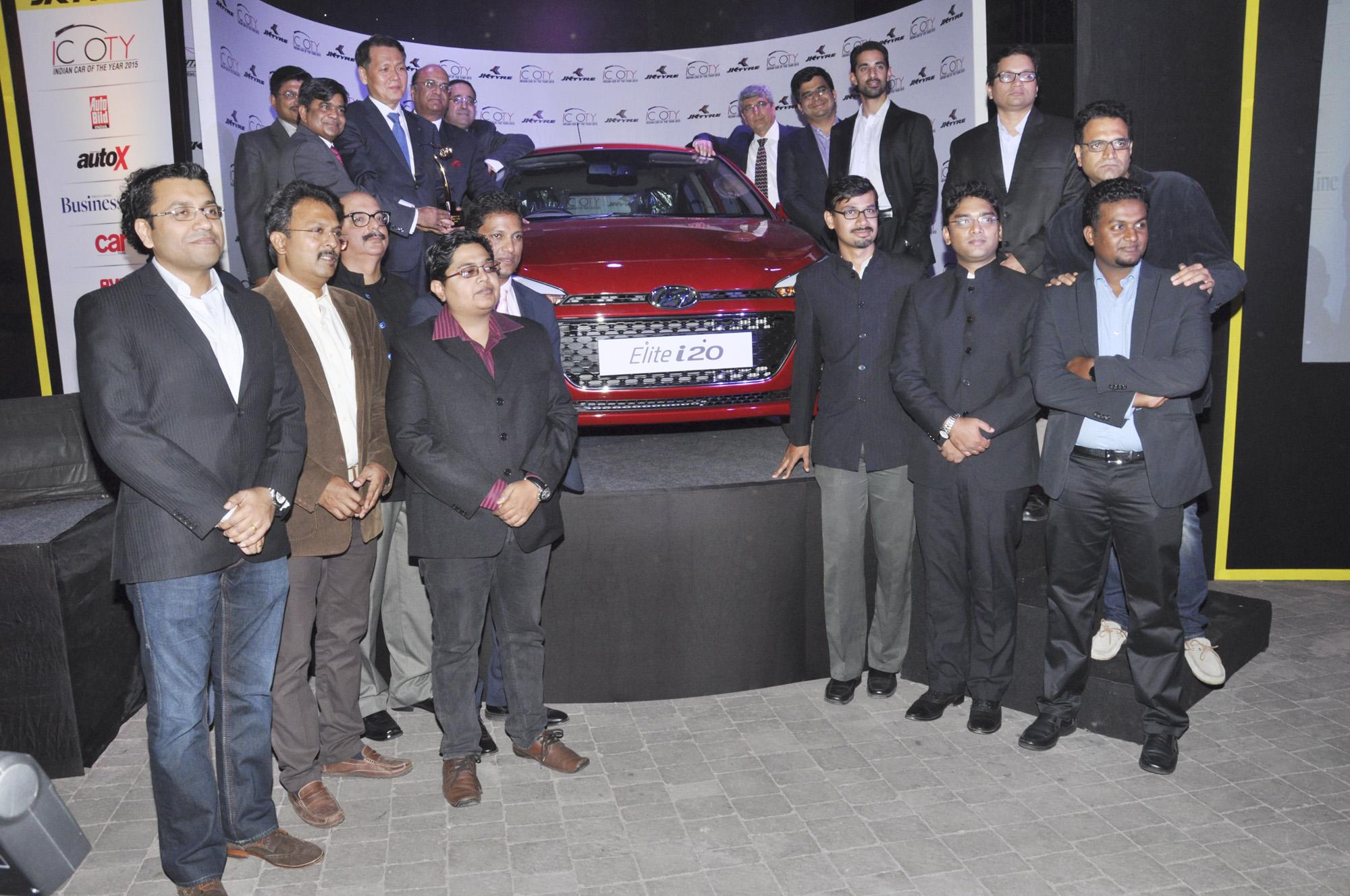 Hyundai i20 Elite giành giải Xe của năm 2015 tại Ấn Độ 5