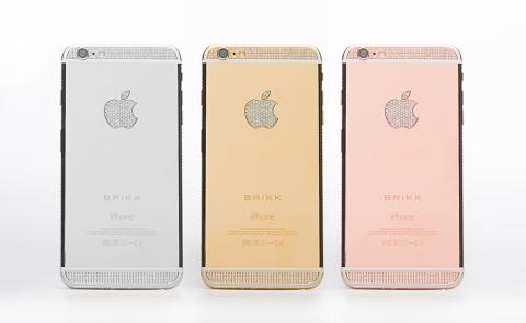 Đại gia chi 1,2 tỷ tậu iPhone 6 Plus mạ vàng, nạm kim cương 7