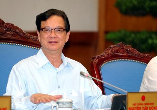 Hình ảnh Thủ tướng Nguyễn Tấn Dũng: Không thể cấm thông tin mạng số 1