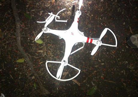 Máy bay không người lái rơi xuống sân Nhà Trắng 5