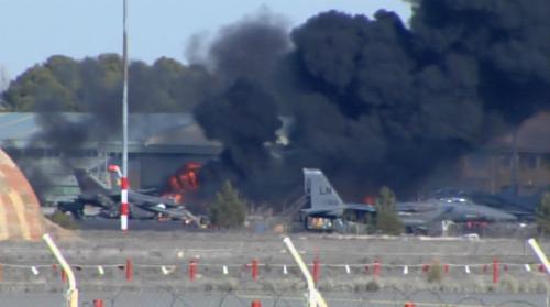 Chiến đấu cơ NATO rơi khi tập luyện, 10 người thiệt mạng 5