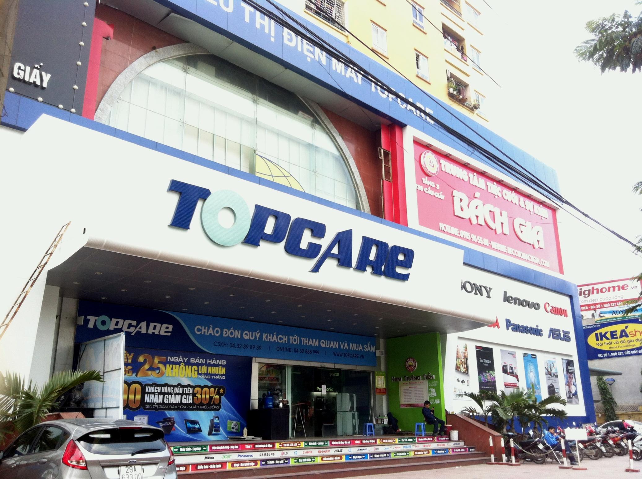 """Tại sao """"đại gia"""" điện máy Topcare đóng cửa hàng loạt siêu thị? 5"""