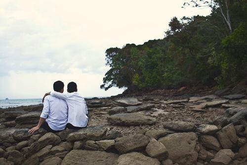 Trọn bộ ảnh cưới đồng tính của nhà thiết kế Việt 10