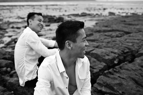 Trọn bộ ảnh cưới đồng tính của nhà thiết kế Việt 9