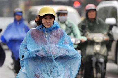 Miền Bắc đón không khí lạnh, mưa nhỏ 4