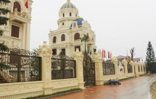 Lâu đài thiết kế theo kiểu Nhà quốc hội Mỹ của đại gia Ninh Bình 10