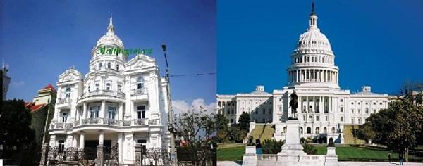 Lâu đài thiết kế theo kiểu Nhà quốc hội Mỹ của đại gia Ninh Bình 7