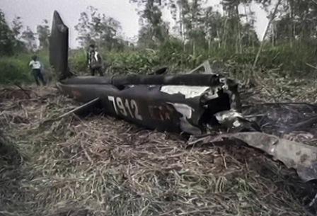 Trực thăng UH1 vừa rơi từng được sửa chữa năm 2005 6