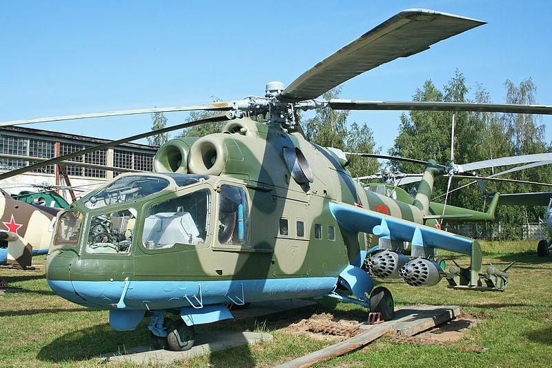 Soi dàn trực thăng mà Không quân Việt Nam đang sở hữu 7