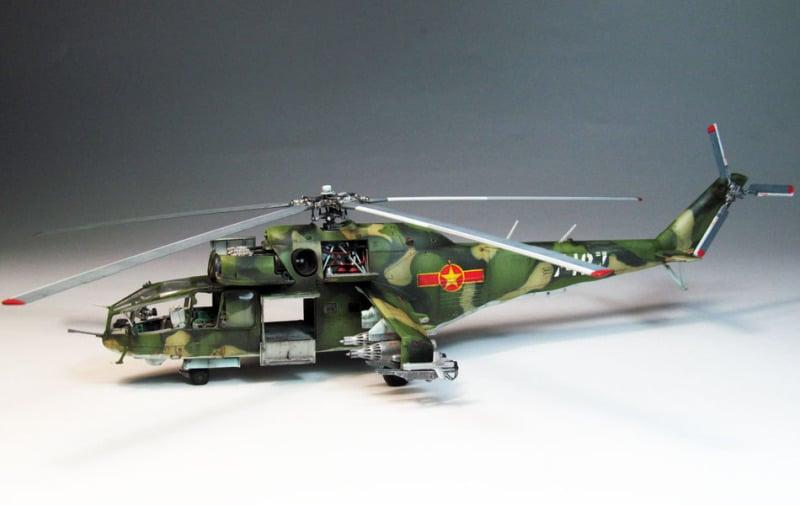 Soi dàn trực thăng mà Không quân Việt Nam đang sở hữu 6