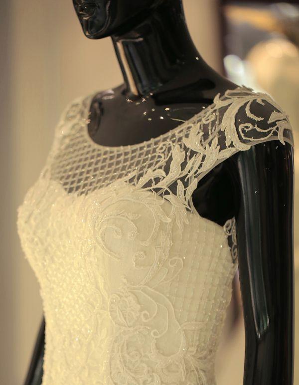 Lộ diện 4 chiếc váy cưới lộng lẫy trong ngày cưới của Trúc Diễm 6