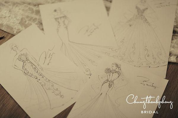 Lộ diện 4 chiếc váy cưới lộng lẫy trong ngày cưới của Trúc Diễm 8