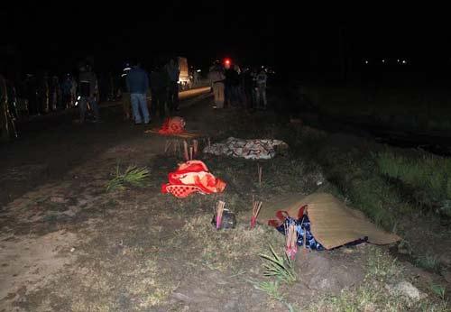 Vợ chồng và con gái bị xe bồn cán chết trong đêm 4
