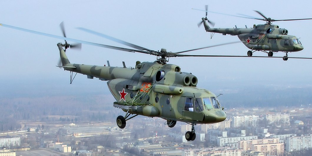 Soi dàn trực thăng mà Không quân Việt Nam đang sở hữu 11